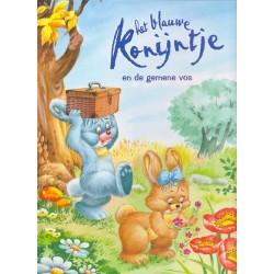 Het blauwe konijntje en de gemene vos
