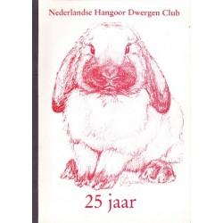 Nederlandse Hangoor Dwergen Club 25 jaar