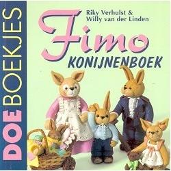 Fimo konijnenboek