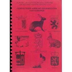 Cursus voor aspirant-keurmeester van konijnen
