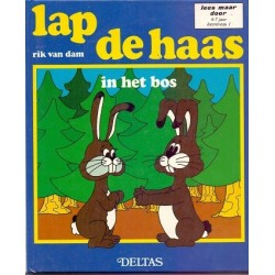 Lap de haas in het bos