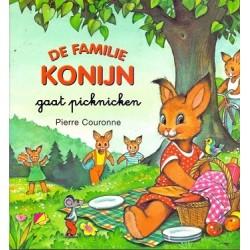 De familie Konijn gaat picknicken