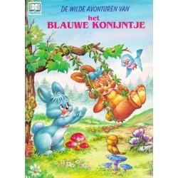 De wilde avonturen van het blauwe konijntje