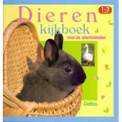 Dieren kijkboek voor de allerkleinsten