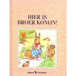 Hier is Broer Konijn!