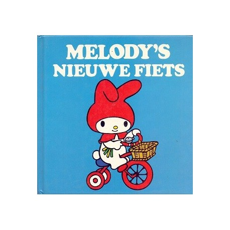 Melody's nieuwe fiets