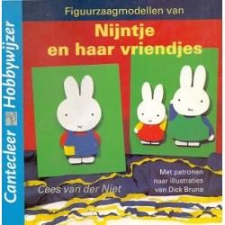Figuurzaagmodellen van Nijntje en haar vriendjes