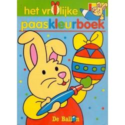 Het vrolijke paaskleurboek