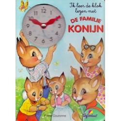 Ik keer de klok lezen met de familie Konijn