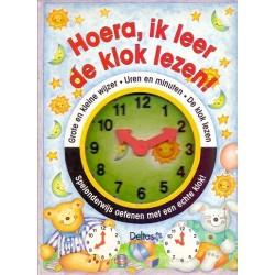 Hoera, ik leer de klok lezen!