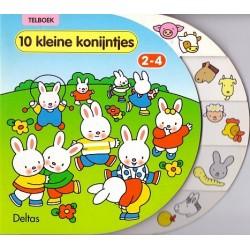 10 Kleine konijntjes