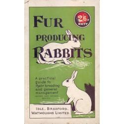Fur Producing rabbits