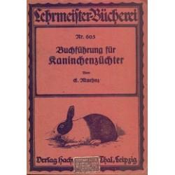 Buchführung für Kaninchenzüchter